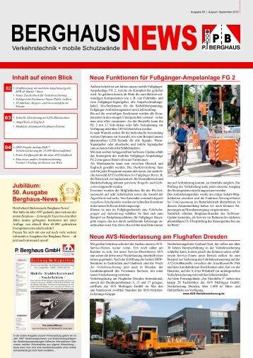 Berghaus News Ausgabe 50