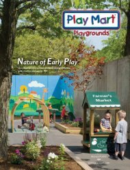 Nature of Early PlayTM products are made from - Play Mart Inc.