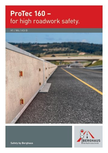 ProTec 160 – for high roadwork safety.