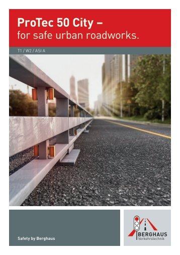 ProTec 50 City – for safe urban roadworks.