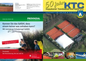 KTC 50 Jahr Journal