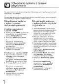 Sony VPCS13X9R - VPCS13X9R Guide de dépannage Polonais - Page 6