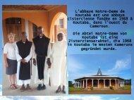 Visite du monastère de cisterciennes Koutaba 2018f