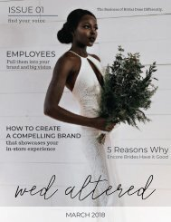 Wed Altered Issue 1