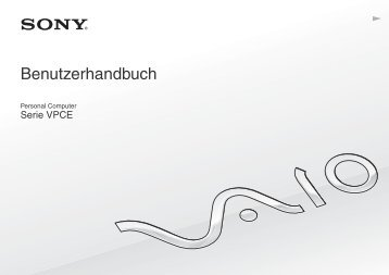 Sony VPCEB4M1R - VPCEB4M1R Mode d'emploi Allemand