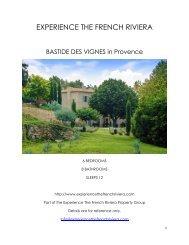 Bastide Des Vignes - Provence