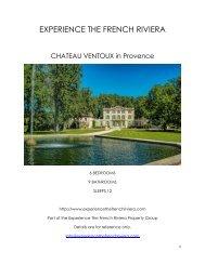 Chateau Ventoux - Provence