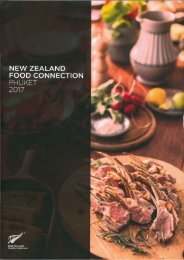 New Zealand Food Connection Phuket 2017