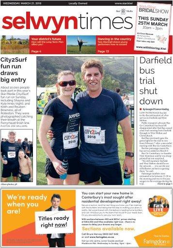 Selwyn Times: March 21, 2018
