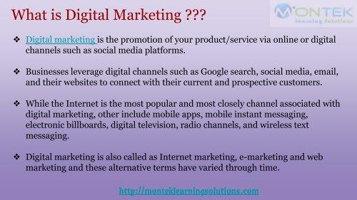 Importance of Digital Marketing
