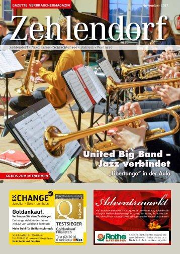 Gazette Zehlendorf Nr. 11/2017