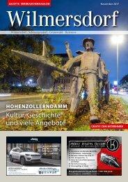 Gazette Wilmersdorf Nr. 11/2017