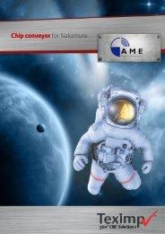 AME Chip Conveyor for Nakamura