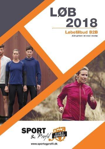 Sport & Profil - Løbekatalog 2018