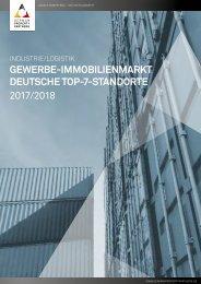 GPP Marktbericht Industrie/Logistik Deutsche Top-7-Standorte 2017