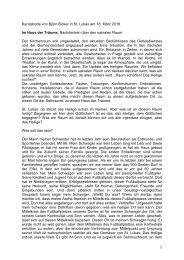 Sanktlukas München Kanzelrede 2018 Björn Bicker Im Haus der Träume
