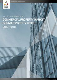 GPP Commercial Property Market Industrial/Logistics Germany´s Top 7 Cities