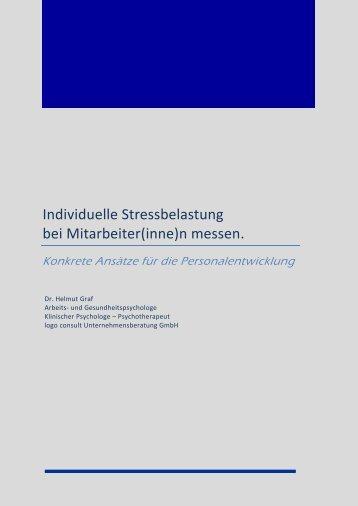 01 - H. Graf  - Stress bei Mitarbeitern messen