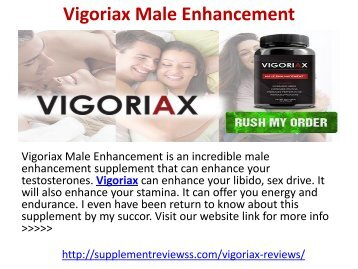 Vigoriax Male Enhancement