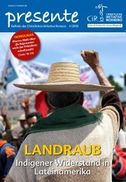 Landraub - Indigener Widerstand in Lateinamerika