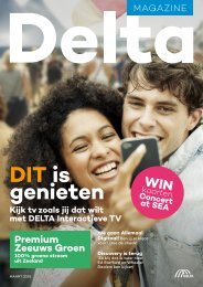 DELTA Magazine Maart 2018
