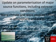 Role of Ocean Waves in the Coupled Atmosphere-Ocean ... - ecmwf