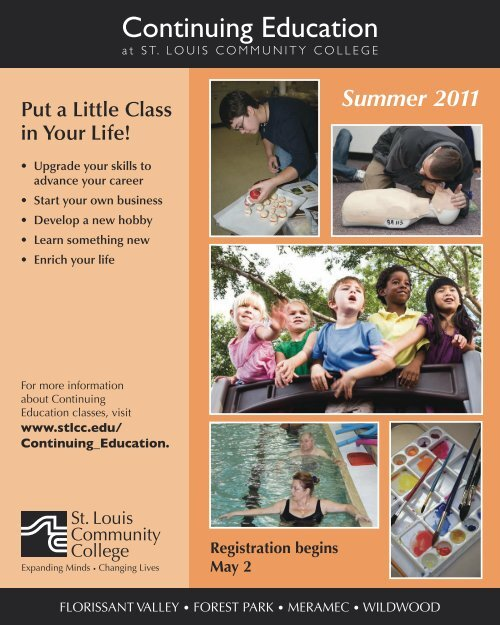 Put A Little Class In Your Life St Louis Community College
