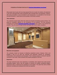 6 Qualities of the Best Contractor for Basement Remodeling Long Island