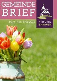 Gemeindebrief März April Mai 2018 NEU