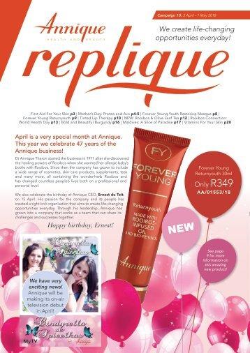 Replique - Campaign 10 - April 2018