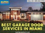 Garage Door Service Miami