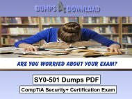 2018 CompTIA SY0-501 Prep & Test Bundle, SY0-501 Exam