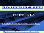 Epson Printer Repair Service Contact us +971-523252808