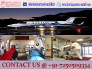Panchmukhi Air Ambulance Service in Delhi with Best Doctor