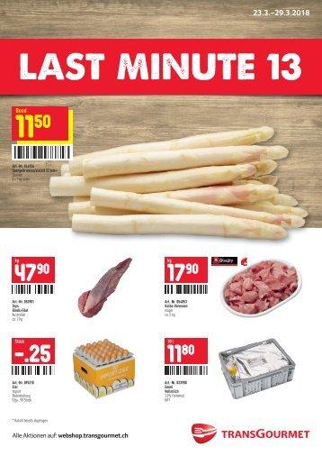 Last Minute 13