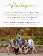 Branches Photography 2018 Pricing Guide - Page 4