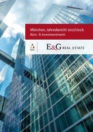 E & G Büro-&Investmentmarktbericht München 2017-2018