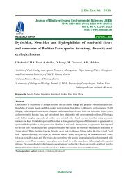 Dytiscidae, Noteridae and Hydrophilidae of semi-arid rivers and reservoirs of Burkina Faso: species inventory, diversity and ecological notes