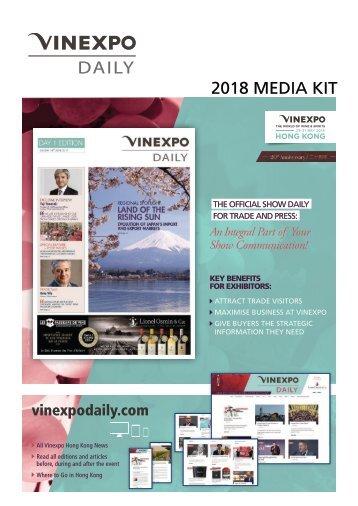 Media Kit VINEXPO DAILY 2018