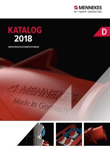 MENNEKES_Katalog_Industriesteckvorrichtungen_2018_DE