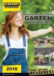 Gartenkatalog 2018 - Gebhardt Bauzentrum
