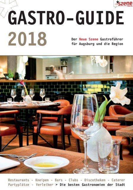 Gastro-Guide Augsburg 2018
