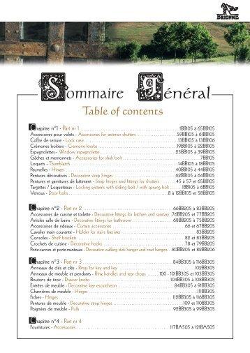 Catalogue historique Brionne (suite et fin 2/2)