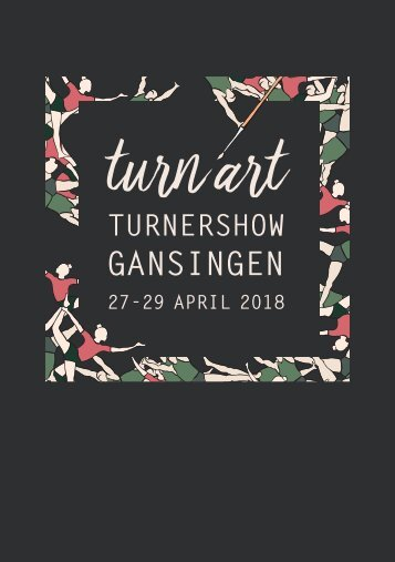 Turnershow turnart 2018 Programmheft