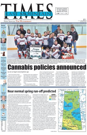 Last Mountain Times March 19, 2018