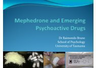 Mephedrone And Emerging Psychoactive Drugs - ATDC