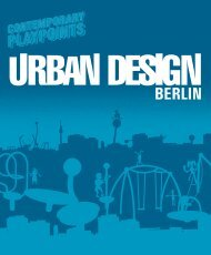 2015-URBAN DESIGN BERLIN - ENGLISH
