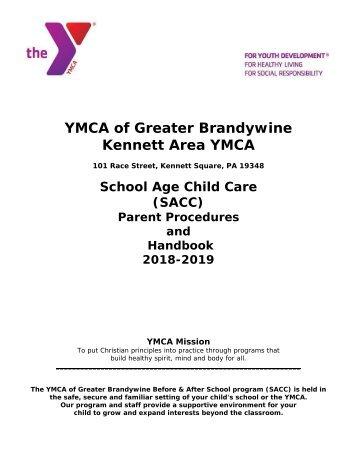 Parent Handbook 2018 - SACC