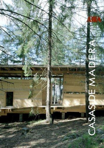 Casas de madera Sistemas constructivos