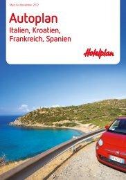 HOTELPLAN AutoplanItalienKroatienMehr 2012